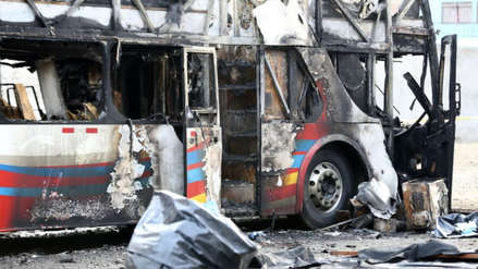 Falta de reconocimiento de la responsabilidad en el incendio en el bus de Sajy