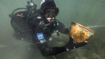 Arqueólogos descubren al fondo del Lago Titicaca restos de una religión anterior a la de los incas