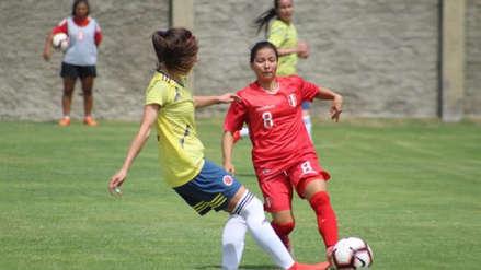 Fútbol femenino: Perú cayó 2-1 ante Colombia en su primer partido amistoso internacional del año