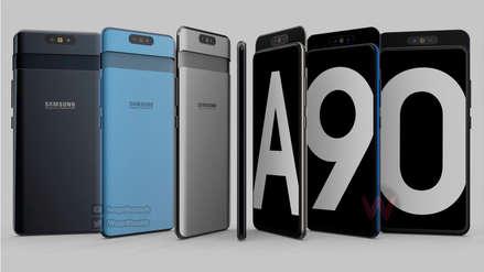 ¿Slider con cámara giratoria? Render anticipa al Samsung Galaxy A90