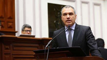 Salvador del Solar solicita el voto de confianza ante el Pleno del Congreso