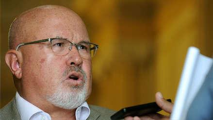 Carlos Bruce reconoce demoras en reconstrucción del Norte, pero dijo que se