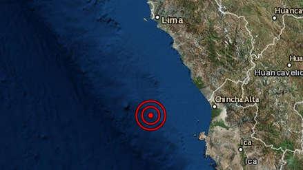 Un sismo de magnitud 4.6 remeció la región Lima esta madrugada