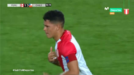 Perú vs. Chile: Yuriel Celi anotó el gol del descuento tras un tiro de esquina