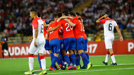 ¡Se cayó luchando! Perú perdió 3-2 ante Chile por el hexagonal final del Sudamericano Sub 17