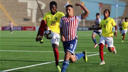 Paraguay empató 1-1 con Ecuador en la segunda fecha del hexagonal final del Sudamericano Sub 17