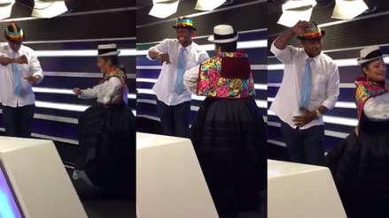 Ahora es tunantero: El baile de Juan 'Chiquito' Flores que sorprendió a Los Chistosos [VIDEO]