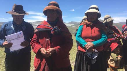 Comuneros denuncian que tienen plomo en la sangre por actividad minera de Las Bambas