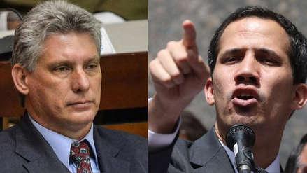 Juan Guaidó lanza ultimatum a Cuba: no habrá más petróleo venezolano