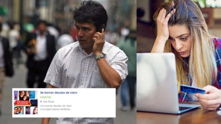 """Cuidado: Supuestos tramitadores estafan a usuarios de telefonía con la promesa de """"borrar la deuda"""""""