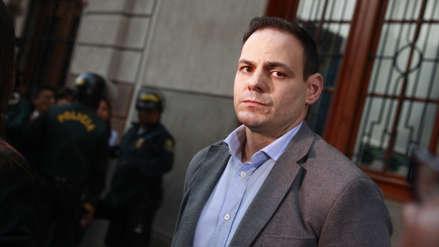 Juzgado reprograma audiencia por impedimento de salida para Mark Vito Villanella
