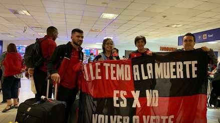 Melgar llegó a Argentina para enfrentar a San Lorenzo por Copa Libertadores