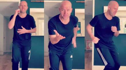 Gian Marco se luce bailando