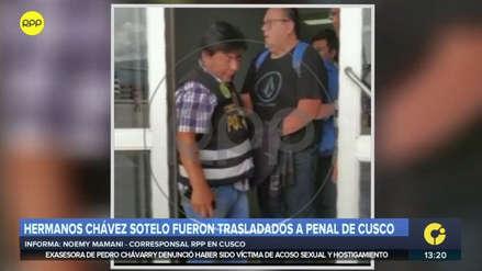 Las Bambas   Los hermanos Chávez Sotelo fueron recluidos en el penal del Cusco
