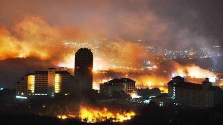Corea del Sur declara el estado de catástrofe por inmenso incendio forestal