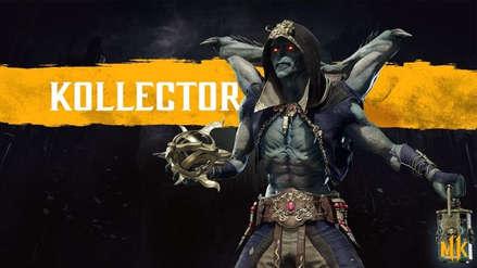 Mortal Kombat 11 | Confirman a nuevo peleador The Kollector con sangriento tráiler