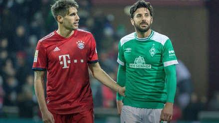 Se volverán a ver las caras: Werder Bremen de Claudio Pizarro enfrentará al Bayern Munich en la Copa Alemana