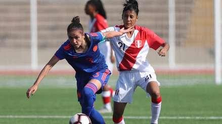 Fútbol femenino: Perú fue goleado por 4-0 ante Colombia en su segundo amistoso internacional del año