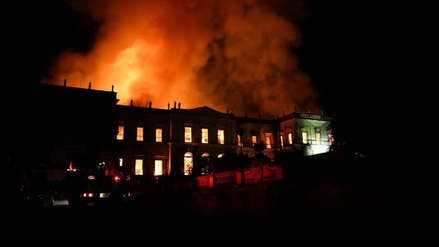 Museo Nacional de Río de Janeiro: Revelan la causa del incendio que devoró parte de su invaluable patrimonio