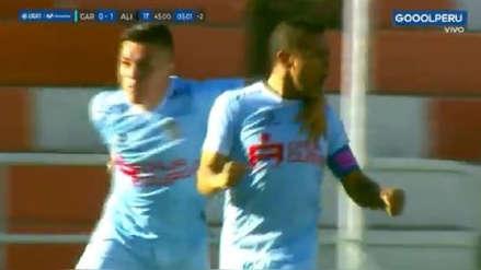 Después del jalón de Riojas: el gol de penal de Alfredo Ramúa para poner el 1-1 ante Alianza Lima