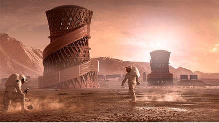 La NASA presenta tres modelos de habitats para vivir en Marte