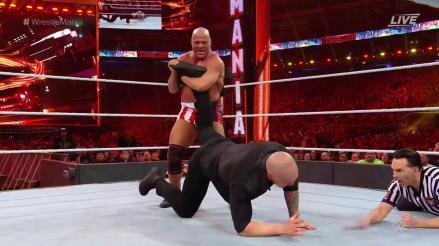 WWE WrestleMania 35 EN VIVO: ¡La última! Kurt Angle perdió en su lucha de retiro ante Baron Corbin