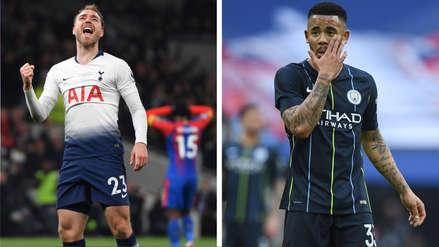 Manchester City vs. Tottenham EN VIVO: horarios y canales para ver duelo por Champions League 2019