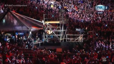 WWE WrestleMania 35 EN VIVO: Con un impresionante suplex desde gran altura, Shane McMahon derrotó a The Miz