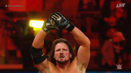 WWE WrestleMania 35 EN VIVO: AJ Styles se impone a Randy Orton en el magno evento de lucha libre