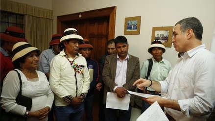 Salvador del Solar viajará el jueves a comunidad de Challhuahuacho