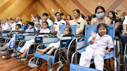 Niños del INSN San Borja presenciaron concierto de Sinfonía por el Perú de Juan Diego Flórez