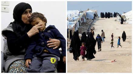 La dramática historia de una abuela que fue a rescatar a sus cinco nietos del ISIS y se quedó atrapada en Siria
