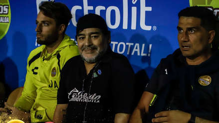 Diego Armando Maradona fue multado por dedicar triunfo de su equipo a Nicolás Maduro