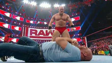 Monday Night RAW: Lars Sullivan debuta en WWE y ataca a Kurt Angle