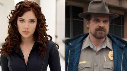 """David Harbour de """"Stranger Things"""" confirma que participará en el filme de Black Widow"""