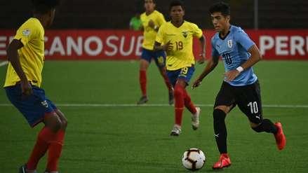 Uruguay venció 4-1 a Ecuador por hexagonal final Sudamericano Sub 17