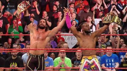 ¡La nueva era ha comenzado! Seth Rollins y Kofi Kingston derrotan a The Bar