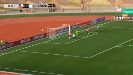 Argentina vs Chile: 'albiceleste' marca un gol a los 17 segundos en Sudamericano Sub 17