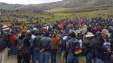 Las Bambas | Comuneros de Challhuahuacho no llegan a acuerdo para desbloquear vía de ingreso a mina
