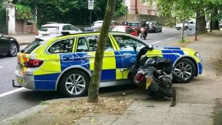 Arrollando el crimen: La Policía de Londres combate así los asaltos en motos [VIDEO]