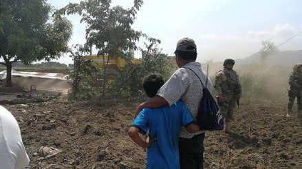 Desalojan a unas 200 familias que vivían en Batangrande desde hace 20 años