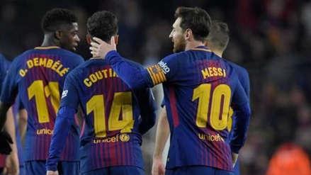 Barcelona dio la lista de viajeros a Manchester con un crack de regreso