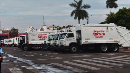 Nuevas compactadoras empezaron a recoger la basura de Chiclayo