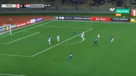 Para no creer: el error de Massimo Sandi que terminó en el segundo gol de Paraguay ante Perú
