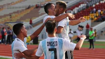 Argentina venció a Chile y sumó su segundo triunfo en el hexagonal final del Sudamericano Sub 17
