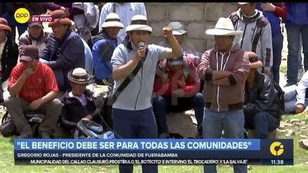 Las Bambas | Gregorio Rojas: