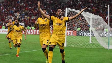 Peñarol venció 1-0 a Liga de Quito por el grupo D de la Copa Libertadores