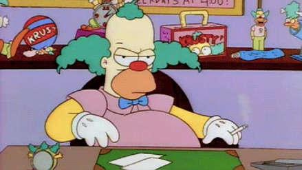 Fanáticos recrean el tráiler de 'Joker' con Krusty de Los Simpson y debes verlo ahora