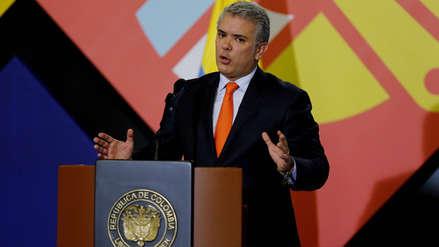 Fiscal advirtió posible atentado contra el presidente de Colombia en medio de clima de protestas