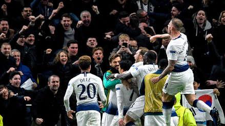 Tottenham Hostspur vs. Manchester City: resumen del minuto a minuto del partido por la Champions League